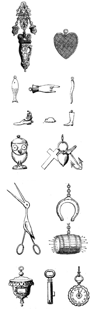 Charms from The Natural History of the Flirt By Albert Smith