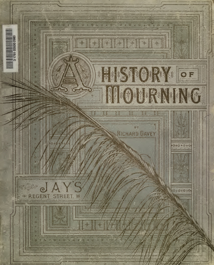 A History of Mourning by Richard Davey