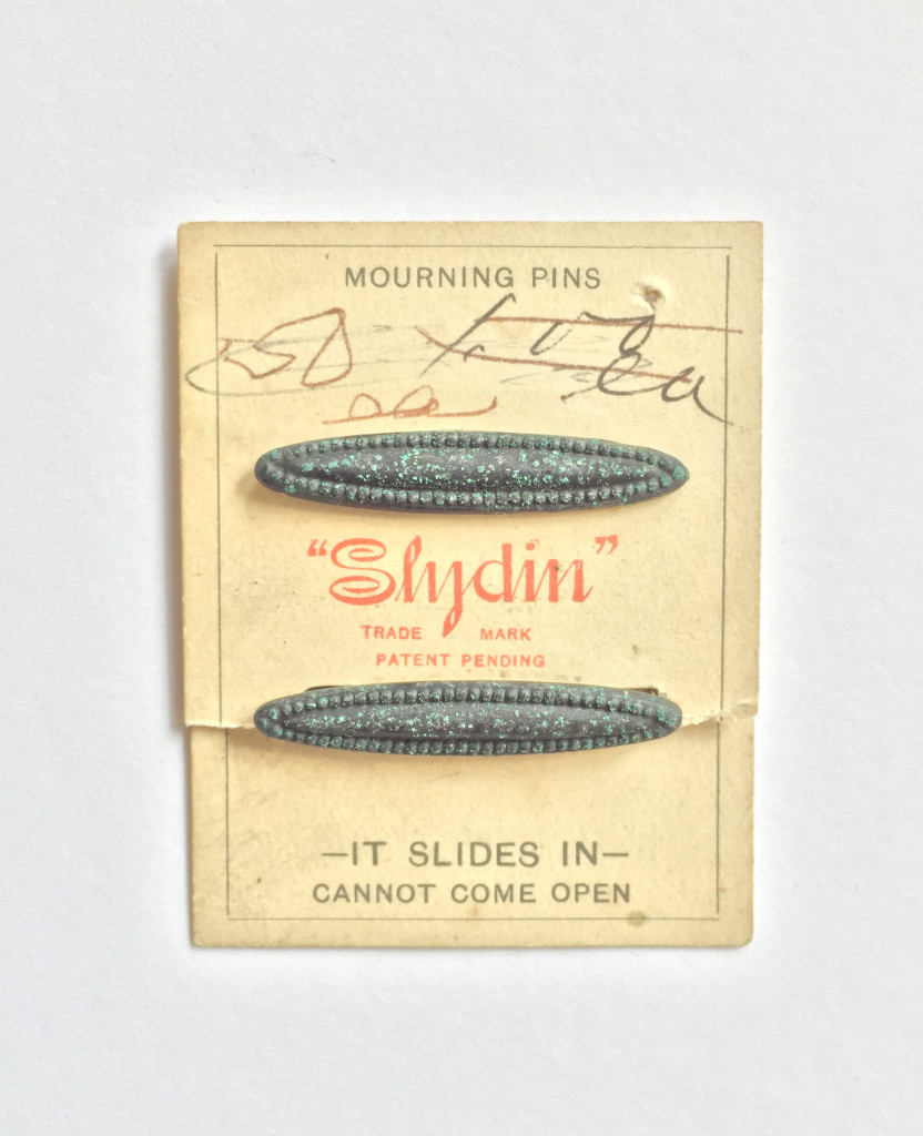 Original mourning pins