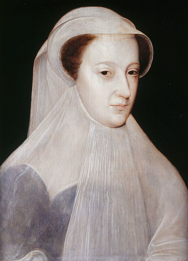 "Mary, Queen of Scots in ""white mourning"""