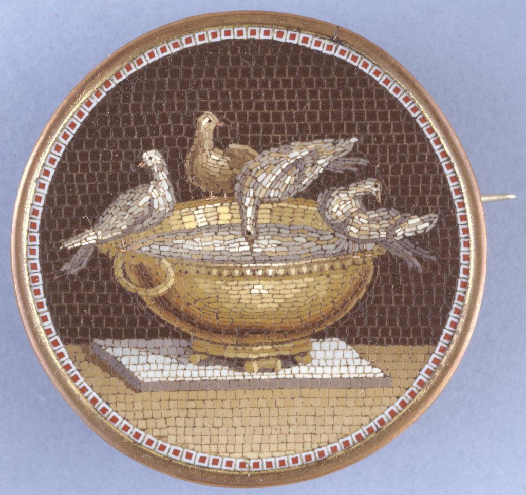 mosaic; Giacomo Raffaelli (Workshop of); 1779; Rome