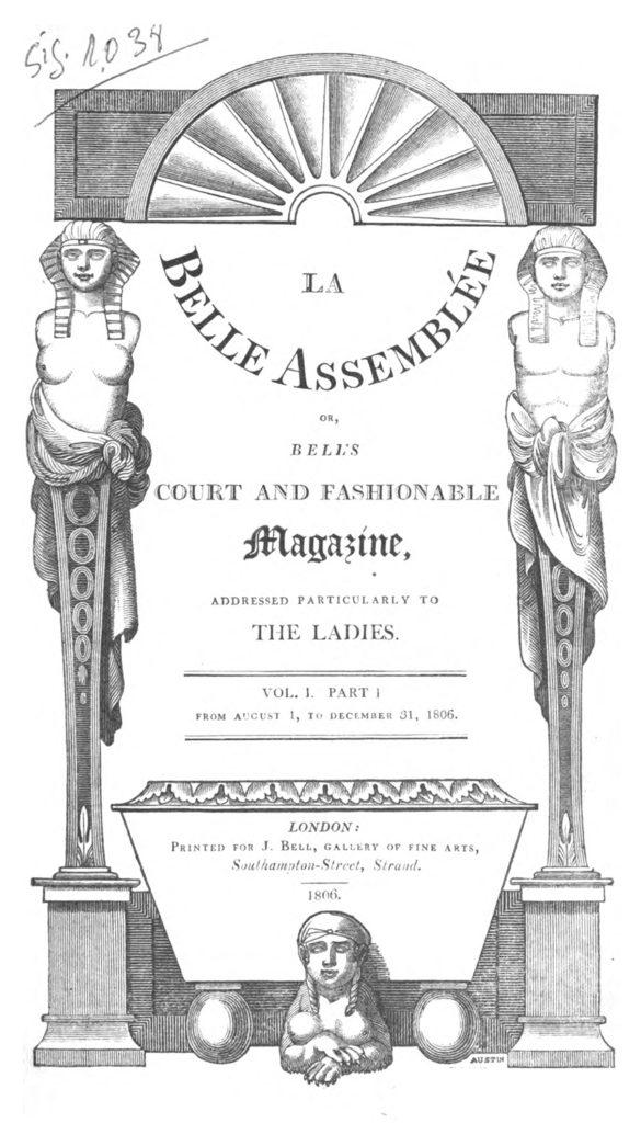 La Belle Assemblée (1806)